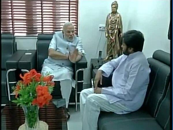 Pawan Kalyan-Narendra Modi's Talk On BJP-JSP Alliance