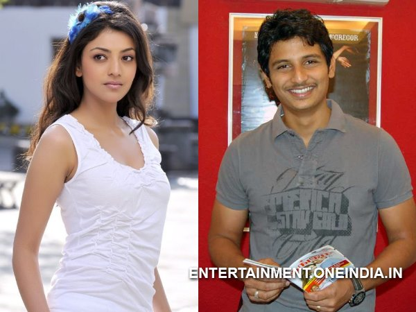 Kajal Aggarwal Teaming Up With Jeeva?