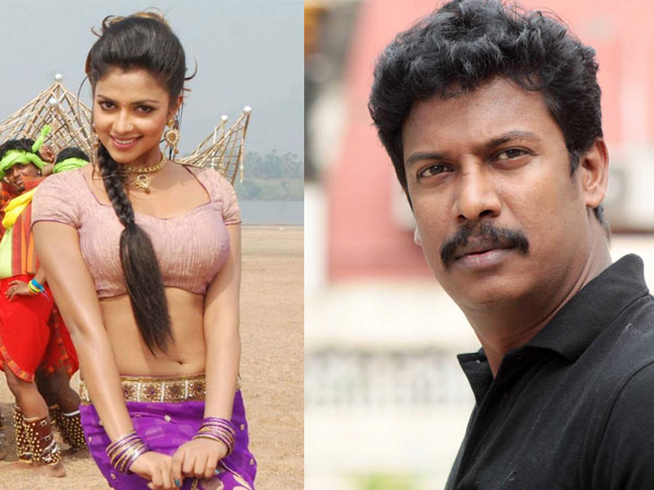 Samuthirakani Plans Woman-Centric Project With Amala
