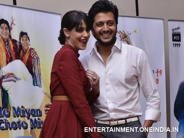 Ritesh And Genelia