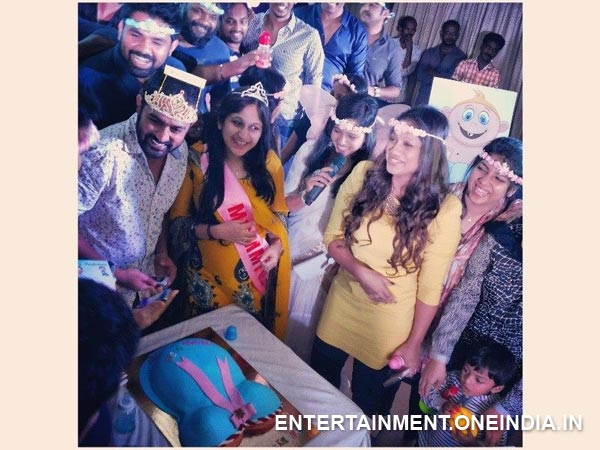 Asif Ali, Baby Shower Party