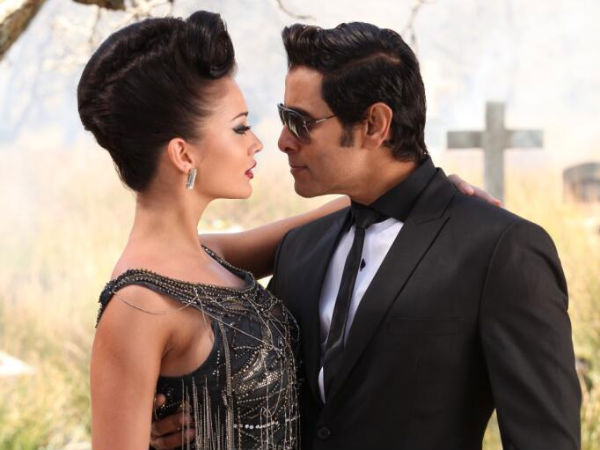 Vikram And Amy Jackson's Still From Ai