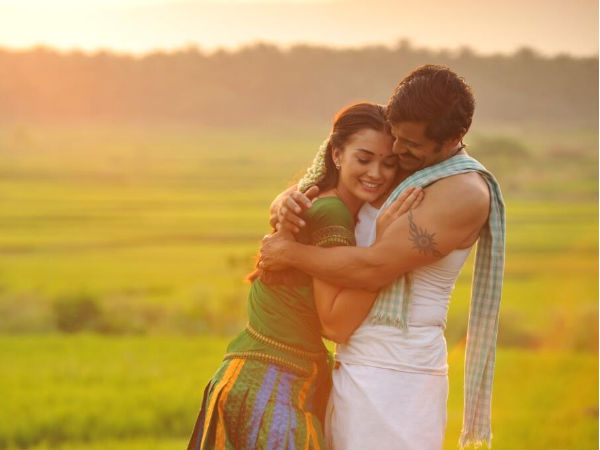Photo: Vikram And Amy Jackson's Rural Avatar In Ai