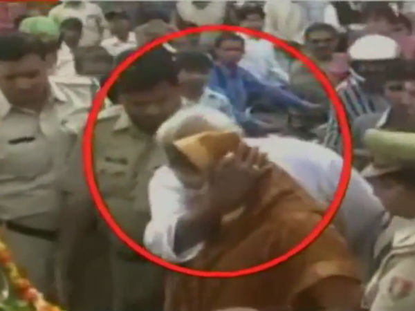 Nagma Molested In Public