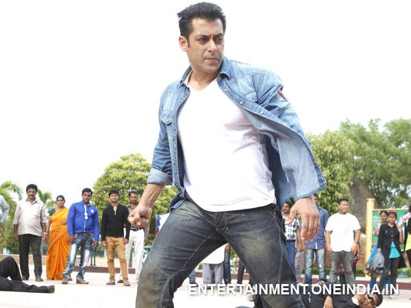 Salman Khan Busy With Kick