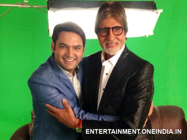 Kapil And Mr Bachchan