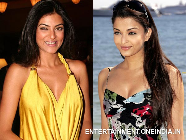 Sushmita Sen and Aishwarya Rai