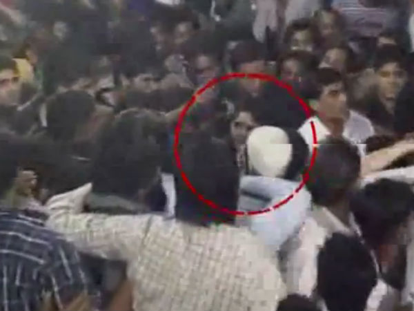 Photos: Nagma Slaps A Youth For Molesting