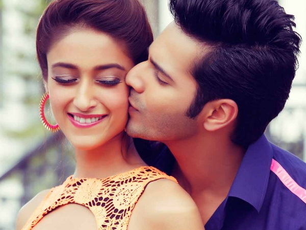 Ileana With Varun Dhawan
