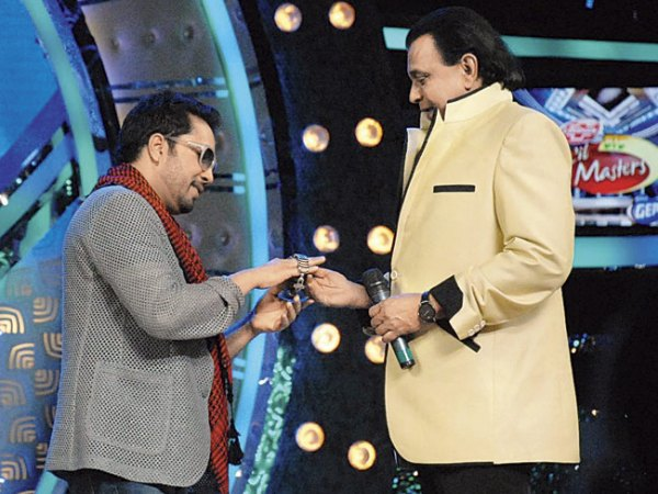 DID L'il Masters: Mika Singh Gifts His Watch To Mithun Da