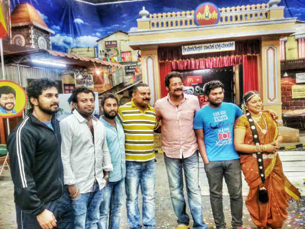 Huchudugaru Team In Comedy Circle