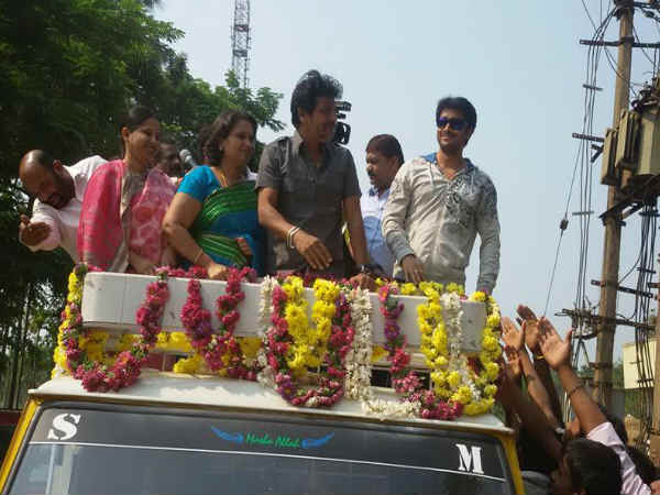 Shivanna, Geethakka And Prem