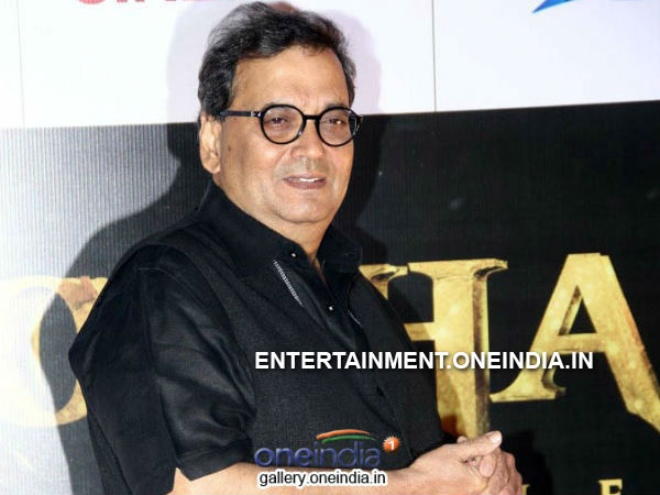 Photo: Subhash Ghai At Kochadaiiyaan (Hindi Version) Trailer/Music Release