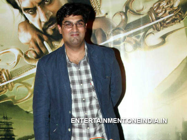 Pic: Siddharth Kapur At Kochadaiiyaan Curtain Raiser