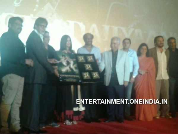 Photos: Kochadaiiyaan Hindi Version Audio Launched