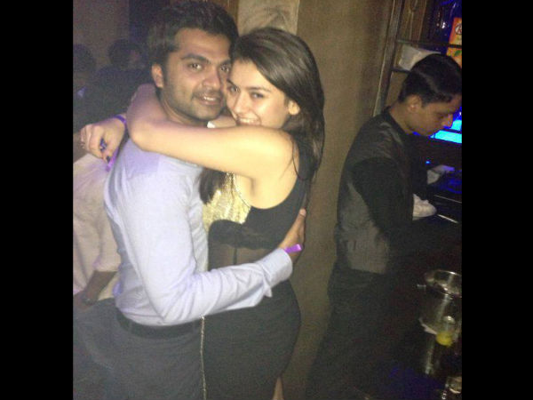 Hansika's Valentine's Day Celebration