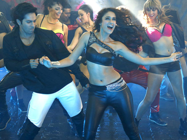 Photo: Ileana Dances With Varun Dhawan