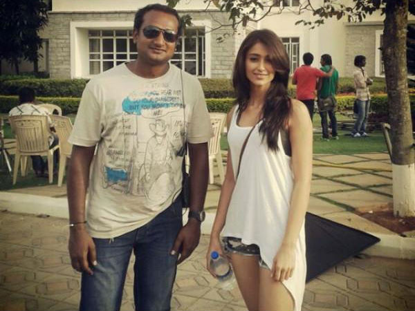 Photo: Ileana On The Sets Of Main Tera Hero