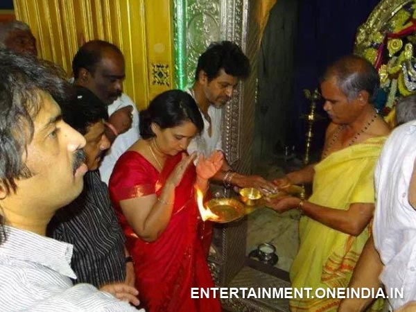Shivanna In Temple