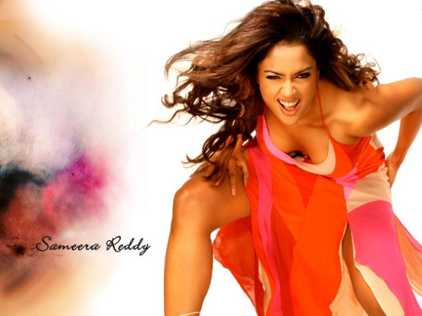 Sameera Reddy's Hot Expression