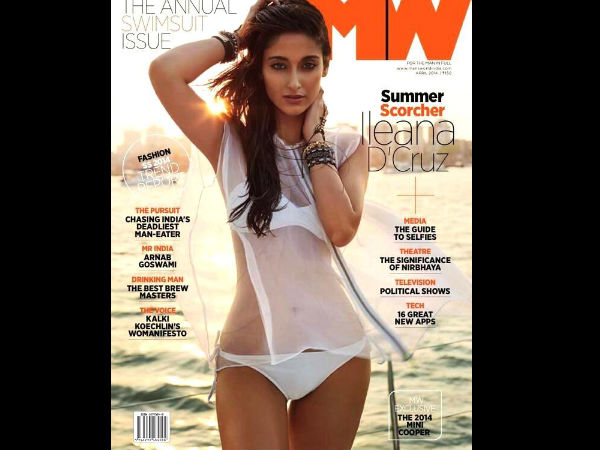 Ileana Sports Two Piece Bikini For Man's World Mag