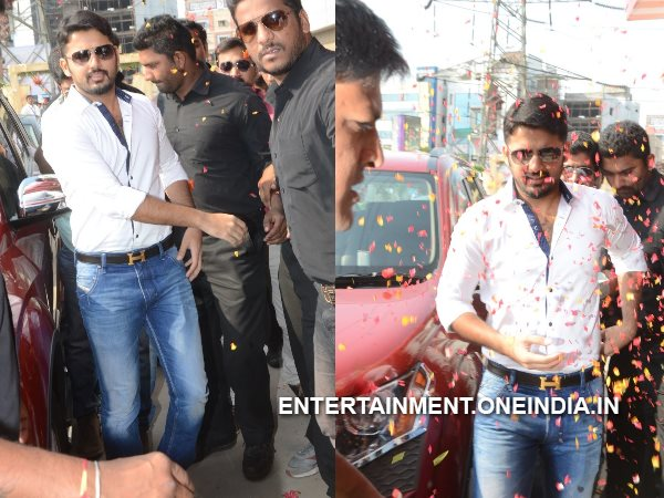 Nitin At Asian Group Multiplex Inauguration