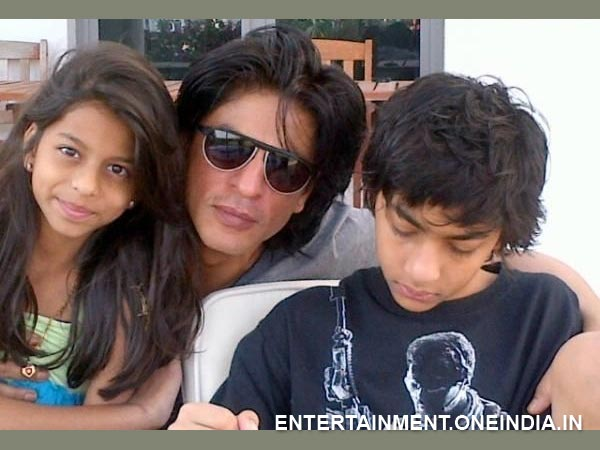 Shahrukh Khan With His Kids