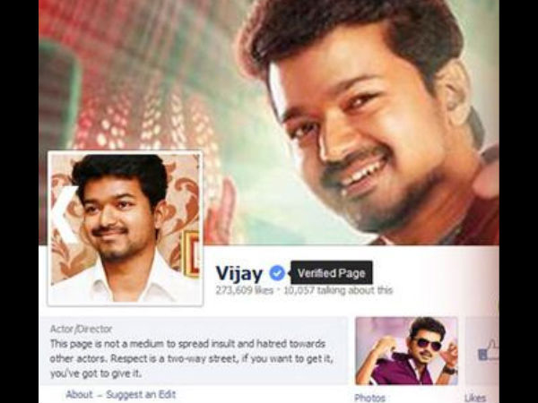 Why Vijay Fans Are Upset With Facebook?
