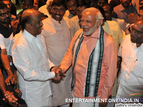 Narendra Modi With Rajinikanth - Picture 9