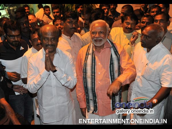 Narendra Modi With Rajinikanth - Picture 10