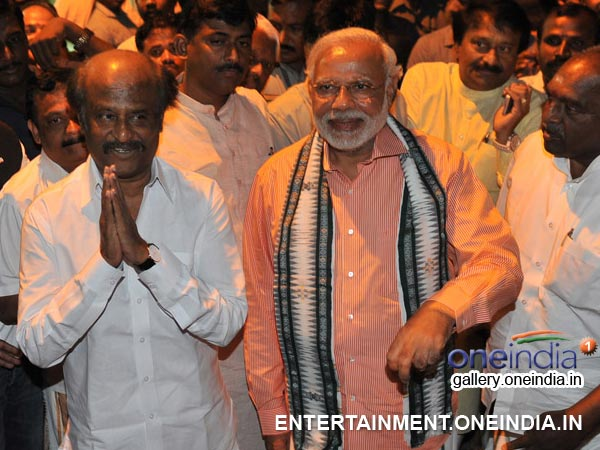 Narendra Modi With Rajinikanth - Picture 11