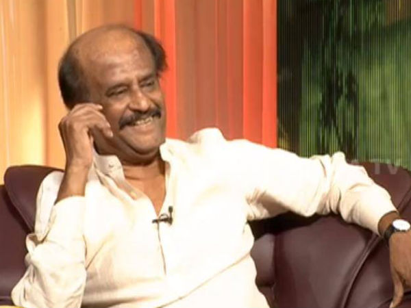 Rajinikanth On Smoking