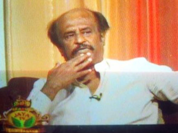 Rajinikanth's Reveals His Favourite Dialogue To Jaya TV Viewers