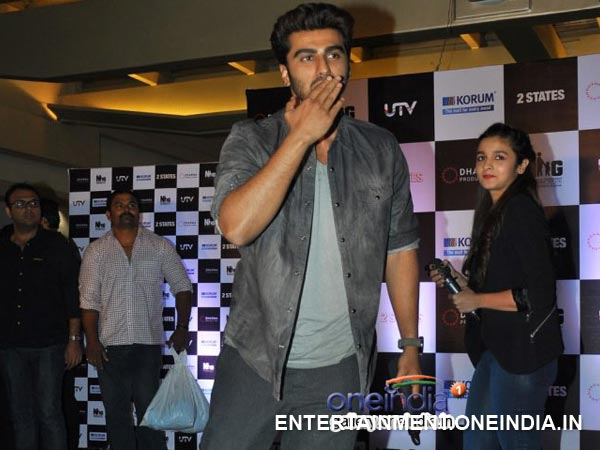 Arjun's Flying Kiss