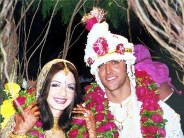 Hrithik And Sussane Roshan Marriage
