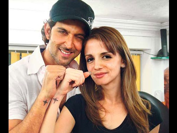 Hrithik And Sussanne Sports The Same Tattoo!