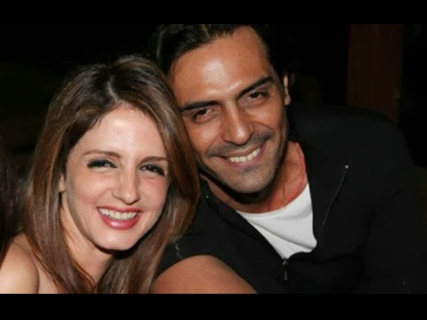 Sussanne And Arjun Rampal