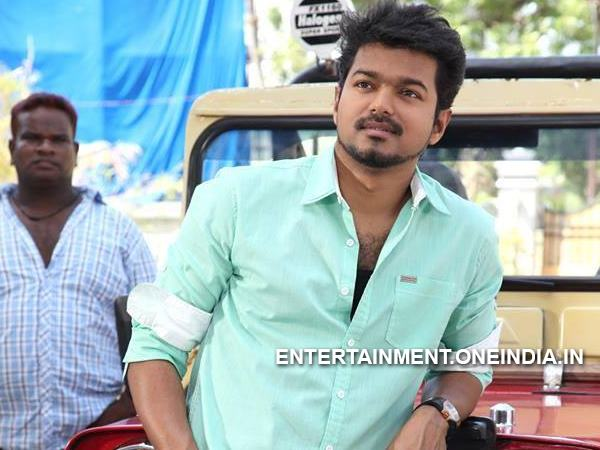 Vijay Busy With Kaththi