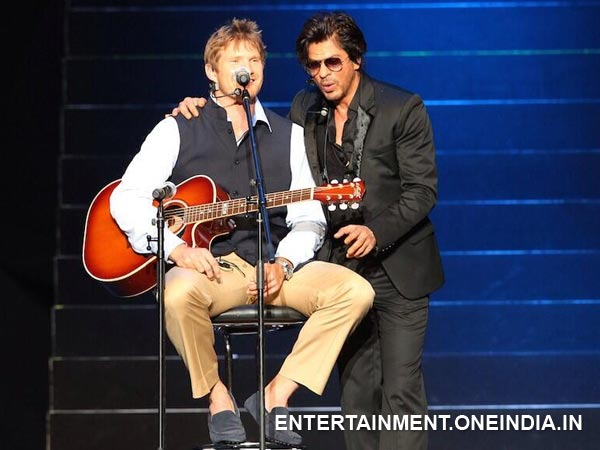 SRK with Shane Watson
