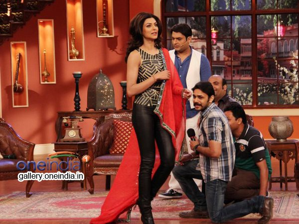 Sushmita On Comedy Nights