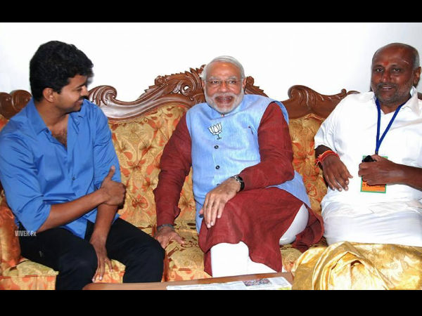 Vijay's Statement On His Meeting With Narendra Modi