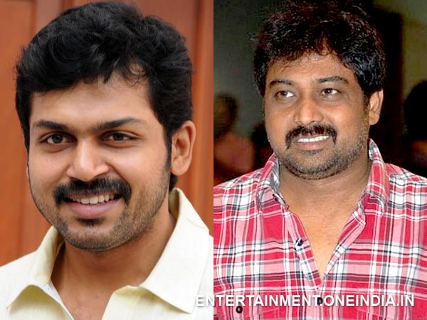 Lingusamy To Join Hands With Karthi