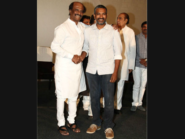 Rajamouli-Rajinikanth's Pose For Photographer