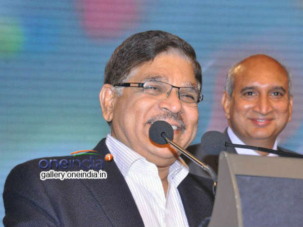 Allu Aravind Addressing Audience