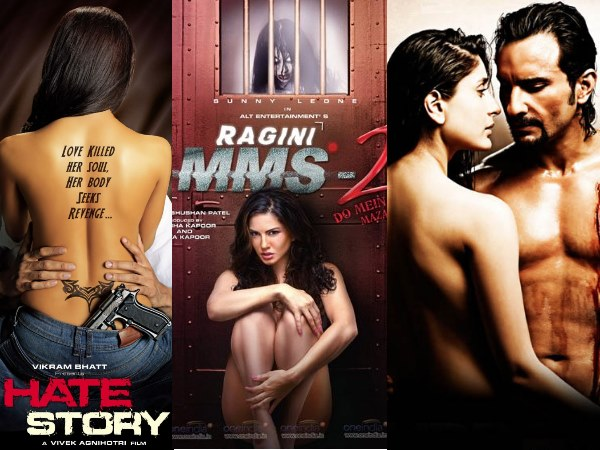 B'wood Actresses Who Went Topless On Movie Posters