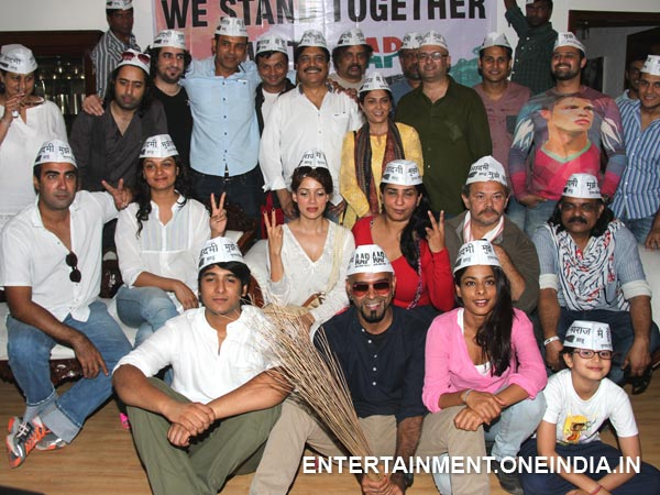 Bollywood Stars For AAP