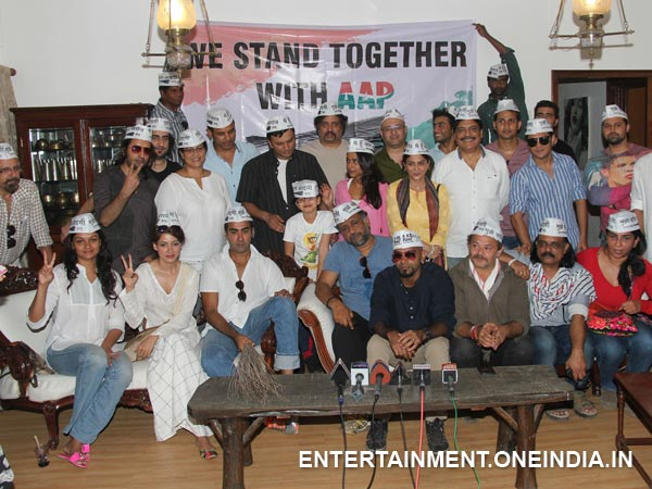 Support AAP In Bollywood Style