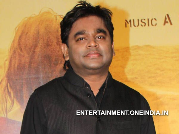 Best Music Director: A R Rahman