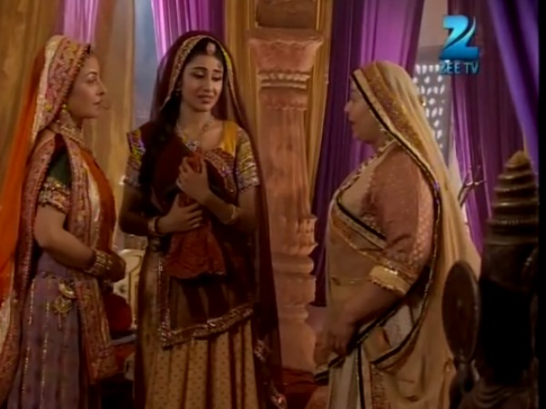 Jodha Meets Her Grandmother And Then Mother