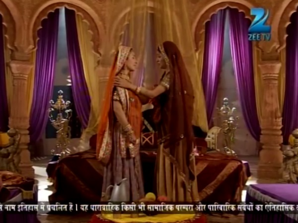 Jodha Forgives Her Mother